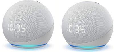 All-new Echo Dot (4th Gen) Smart Speaker x 2