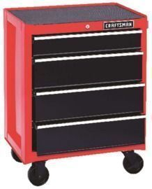 26 Craftsman 4-Drawer Tool Cabinet (34 in. x 18 in.)