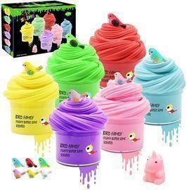Kidsbay 6 Pack Butter Slime Kit