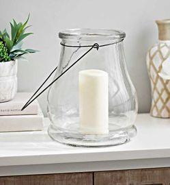 10.5 Clear Glass Lantern