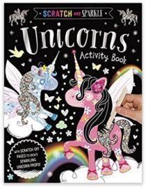 Scratch and Sparkle Unicorns Activity Book Paperback