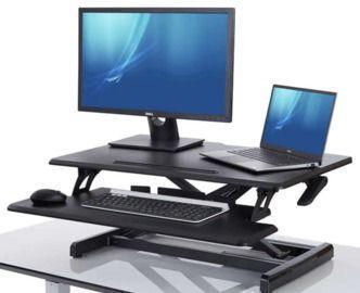 Seville Classics airLIFT PRO Pneumatic Desk Riser