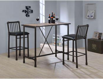 Caitlin Rustic Oak Pub/Bar Table by Acme Furniture