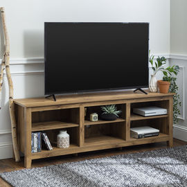 Manor Park Wood TV Media Storage Stand