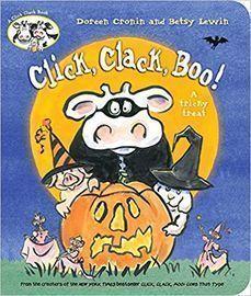 Click, Clack, Boo!: A Tricky Treat (A Click Clack Book) Board Book