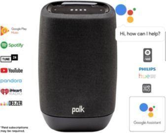 Polk Google Assist Smart Audio Bluetooth Speaker (AM9305)