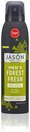 JASON Men's Forest Fresh Dry Spray Deodorant, 3.2 Ounce Bottle