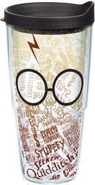 Tervis 24oz Harry Potter Glasses and Scar Tumbler