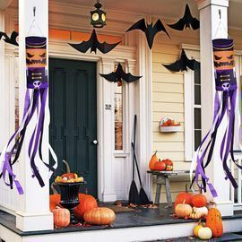 2 Pack Large Halloween Windsocks