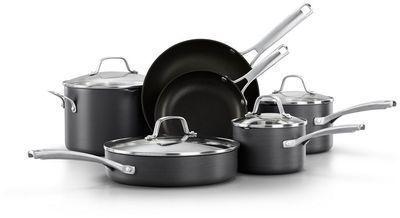 10-pc. Calphalon Classic Nonstick Cookware Set + $20 Kohl's Cash
