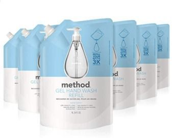 Method Gel Hand Soap Refill - Pack of 6