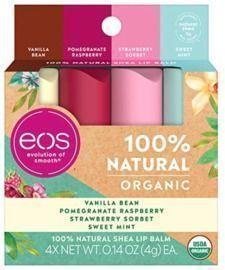 eos USDA Organic Lip Balm - Variety Pack