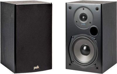 Polk Audio T15 Home Theater Bookshelf Speakers (Pair)