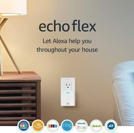 Amazon Echo Flex Plug-in mini smart speaker with Alexa