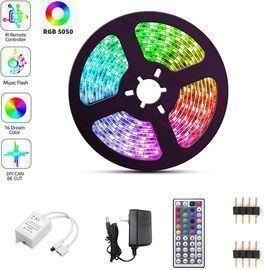 Color Changing LED Strip Lights 16.4FT/5M