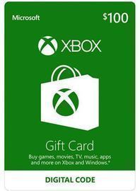$100 US Xbox Gift Card (Email Delivery)