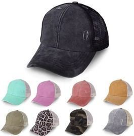 Gillberry Unisex Baseball Cap Washed Distressed