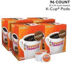 Dunkin Donuts Original Blend Coffee K-Cup Pods, 96pk