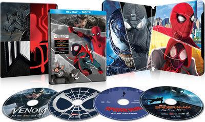 Spider-Man 4-Film Collection Blu-Ray Set