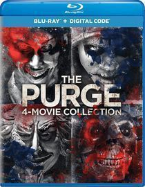The Purge: 4 Movie Collection Blu-Ray Set