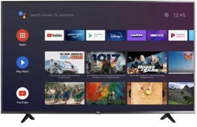 TCL 43 4K HDR UHD Android Smart TV