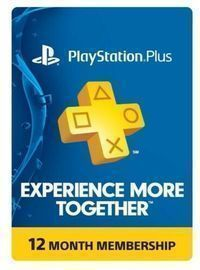 Sony PlayStation PS Plus 1 Year Subscription