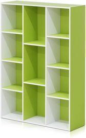 Furinno 11-Cube Reversible Open Shelf Bookcase