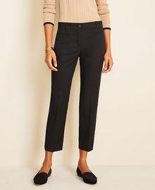 Ann Taylor Cotton Crop Pants
