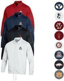 Champion Men's Classic NCAA Coaches Jacket (Various Styles)