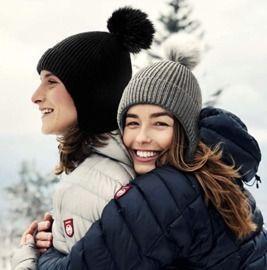 Lvaiz Womens Winter Pom Beanie Knit Wool Pom Hat
