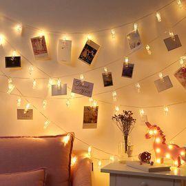 50 LEDs 50 Photo Clips String Light Set