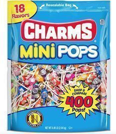 Tootsie Roll Charms Mini Pops 400-Ct.