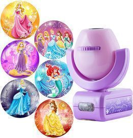 Projectables Disney Princess 6-Image LED Night Light Projector