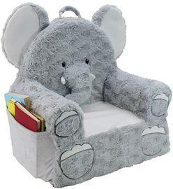 Premium Elephant Children's Plush Chair