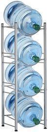 4 Tier 5 Gallon Water Jug Holder Water Bottle Storage Rack