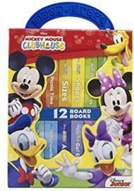 Disney My First Library Board Book Block 12-Book Set