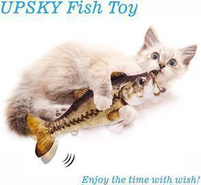 UPSKY Electric Moving Fish Cat Toy