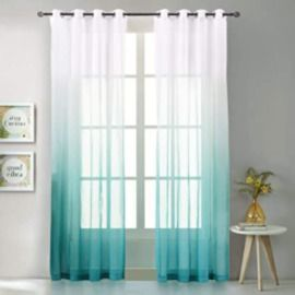 Amazon - 50% Off Sheer Curtain Panels + Extra 5% Off