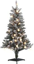Joyland 4 Foot Flocked Tree w/ Lights