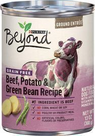 12 Cans of Purina Beyond Grain Free, Natural, Adult Wet Dog Food