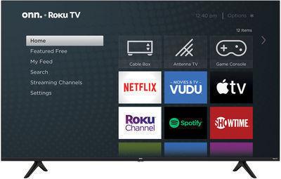 Starts Nov. 4 | onn. 65 4K UHD LED Roku Smart TV HDR