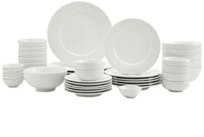 Tabletops Unlimited Inspiration by Denmark Fiore 42-PC. Dinnerware Set