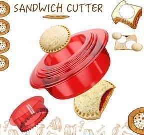 Sandwich Cutter and Sealer - Uncrustables Maker