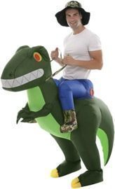 Inflatable Alien Dinosaur T-Rex Costume