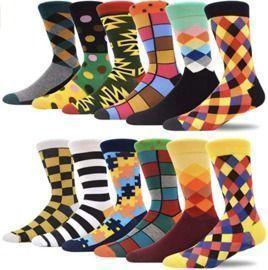 12 Pack of Fun Casual Socks ($1.25 per Pair!)