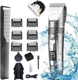 15pc Cordless Rechargeable Grooming Kit