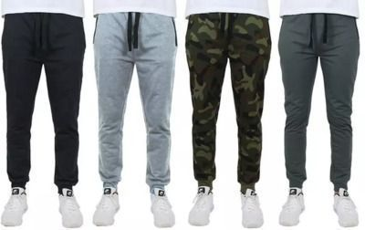4-Pack of Men's Slim Fit French Terry Joggers