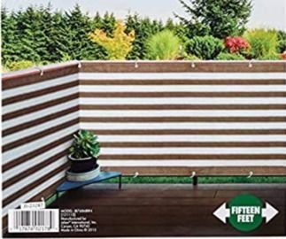 IdeaWorks 15x3-Foot Deck and Fence Privacy Screen