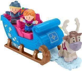 Fisher-Price Disney Little People Disney Frozen Kristoff's Sleigh