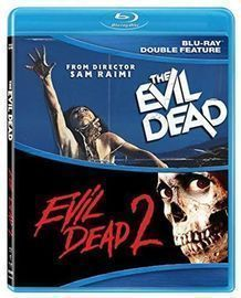 Evil Dead 1 and 2 Double Feature Blu-Ray Set